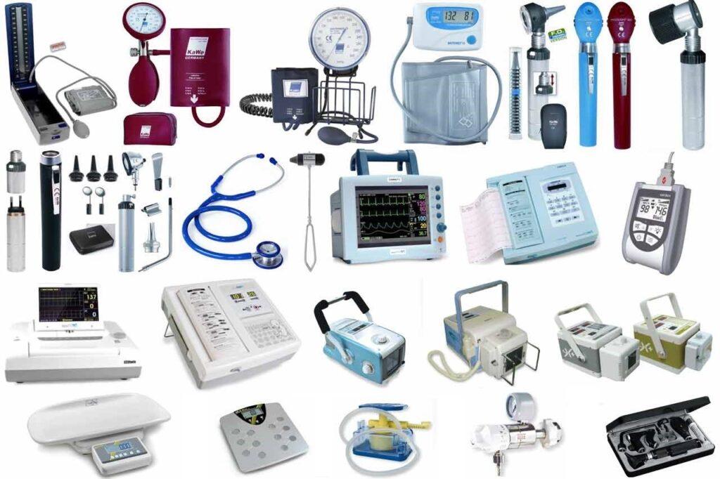 انواع تجهیزات پزشکی